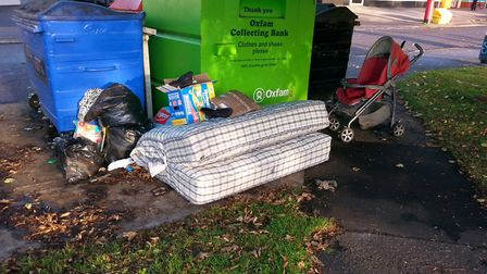 Previous fly-tipping in Norwich. Photo: Archant