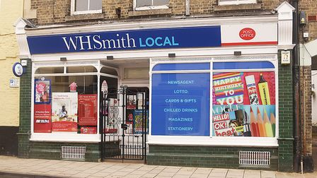 The Post Office and WH Smith store in Downham Market has been closed for eight weeks. Picture: Ian B