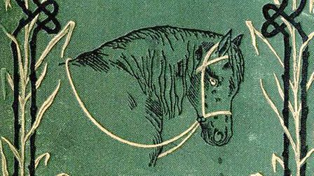 The cover of a first edition of Black Beauty, from 1877 Picture: ARCHIVE
