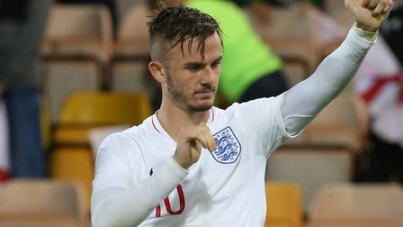 James Maddsion was back at Carrow Road last month with the England U21s but has now made it into the