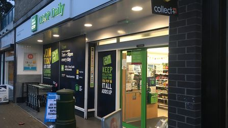 Co-op on Catton Grove Road, Norwich. PIC: Peter Walsh