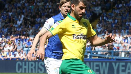 Nelson Oliveira is at Norwich City for the foreseeable Picture: Paul Chesterton/Focus Images Ltd