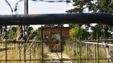 Former atomic weapons factory which is now Gorse Industrial Estate at Barnham.Picture: ANTONY KELLY