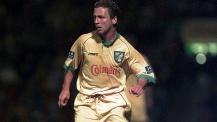 Darren Eadie playing for Norwich City. Picture Keith Whitmore.