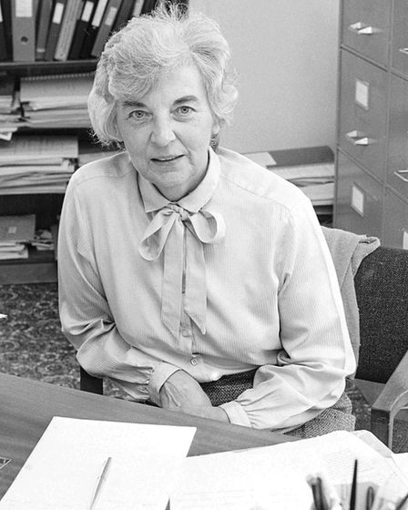 Beryl Graveling, October 1986. Picture: Archant Library