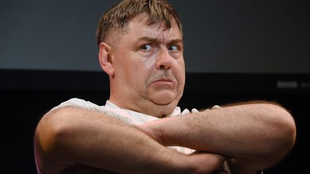 Owen Evans, of Nimmo Twins fame, who will be appearing in a fEAST Theatre touring production of Rob