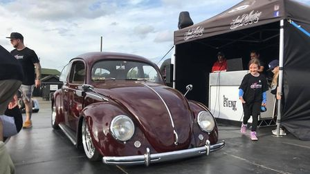 The VW which has been restored by Lloyd Jackson Picture: Lloyd Jackson