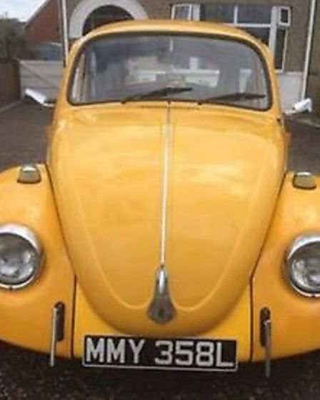 The Rant family's Beetle, which they've christened Bumble Picture: Liz Hobbs
