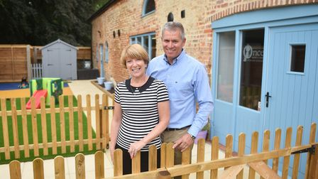 Once Upon a Time Nursery School at White House Farm, Sprowston. Owners, John and Julie Banbury. Pict