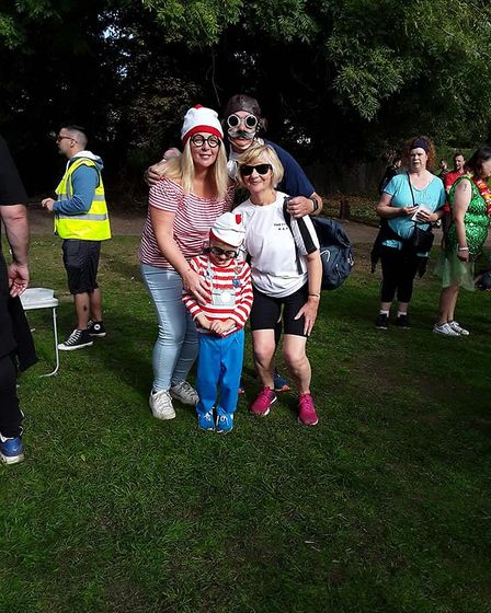 Thetford's 300th parkrun on Saturday 15 September 2018. Pictures: Ann Elrick and Jean Stewart