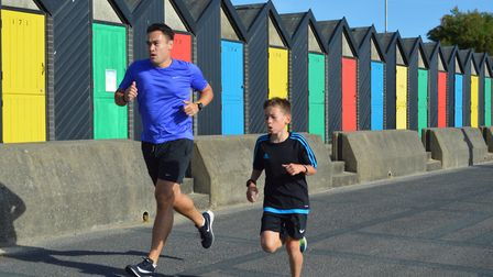 Lowestoft parkrun on on Saturday 15 September 2018. Picture: Daren Coulter