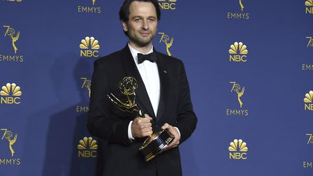 """Matthew Rhys, winner of the award for outstanding lead actor in a drama series for """"The Americans"""","""