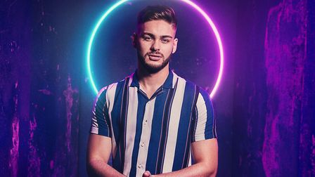 Mitchell from Norfolk is one of the players in The Circle on Channel 4 (C) C4