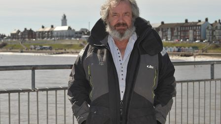 David Beavan on the pier in Southwold Picture: SARAH LUCY BROWN
