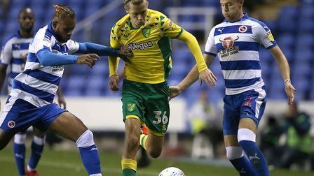 Todd Cantwell had a night to savour on his league debut for Norwich City Picture: Paul Chesterton/Fo
