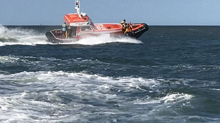 Caister lifeboat was called out Picture: Anthony Carroll