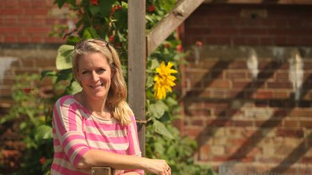 Jo Metcalfe at Hollesley Bay prison in 2014. Jo is optimistic about the future, as long as society