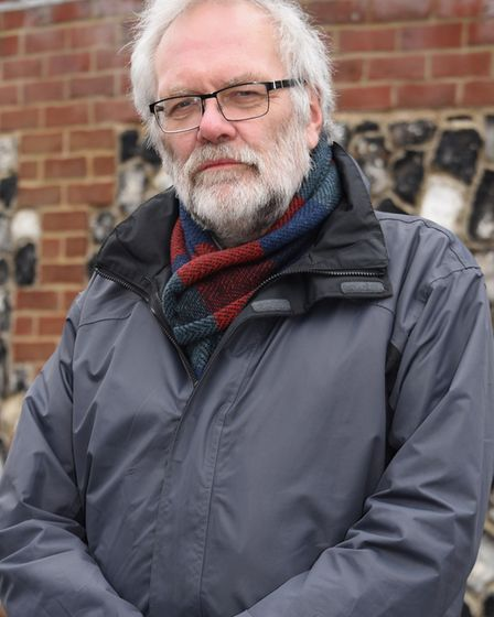 Steve Morphew, leader of the Labour group at Norfolk County Council. Picture: DENISE BRADLEY