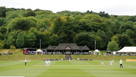 Wormsley Cricket Club in Buckinghamshire was the attractive setting for the Minor Counties Twenty20