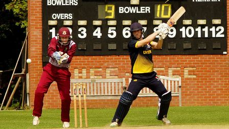 Sam Arthurton top scored with 70 for Norfolk - but it was not enough Picture: Tim Ferley