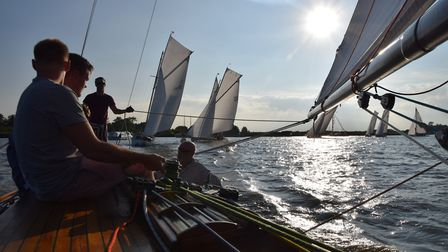 River Cruisers racing at Oulton Week Picture: Trish Barnes.