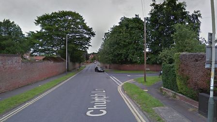 Greenways and Church Lane junction in Norwich (Picture: Google)