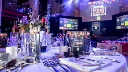 EDP Norfolk Food and Drink Awards 2017 at OPEN. Photo credit Simon Finlay Photography.