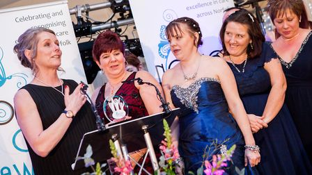 Winners at the Norfolk Care Awards 2018. Picture: Paul Macro Photography