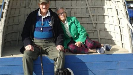 Michael and Frances Hubbard. Picture: East Anglia News Service