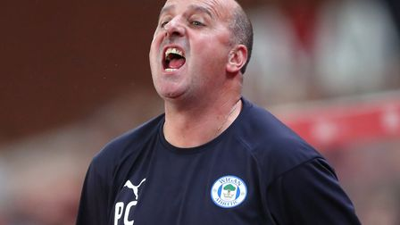 Paul Cook, who had a brief spell at Norwich as a player, lead Wigan to promotion Picture: Nick Potts