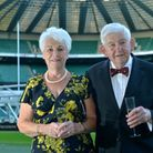 Mike and Margaret Stott pictured at Twickenham Picture: MIKE STOTT