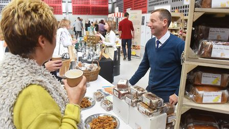 Local Flavours 2018 event for local food and drink producers at the Norfolk Showground Arena.Picture