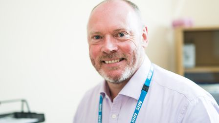 Norfolk and Suffolk Foundation Trust chairman Gary Page. Photo: NSFT