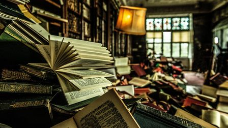 The Word Defiant in Blickling's library Picture: Rah Petherbridge