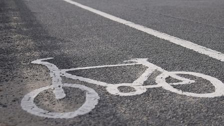 A cycle path. Picture: DENISE BRADLEY