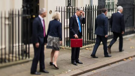 Chancellor Philip Hammond could loosen the purse strings during the Budget at the end of ther monthP