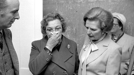 Margaret Thatcher in Wisbech in 1978. Picture: Archant