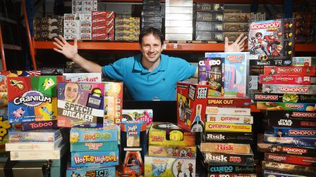 Zatu Games. Founder and director Simon Budd. Picture: ANTONY KELLY