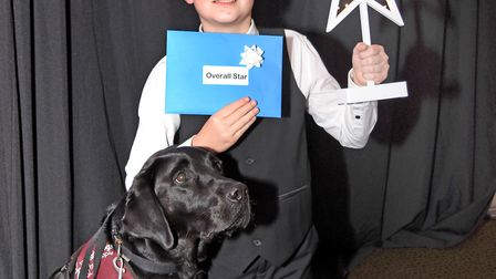 The overall Star of Lowestoft and Waveney Awards winner, Daniel Jillings. Picture: Mick Howes