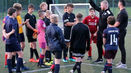 The North Suffolk football community sessions, running in conjunction with Lowestoft Town FC, are la