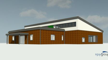 Graphic showing what the new nursery in Hethersett could look like Picture: Norse Group