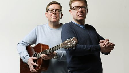 Craig and Charlie Reid, The Proclaimers Picture: Murdo MacLeod.