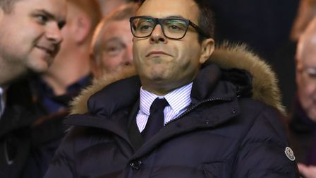 Leeds United's owner Andrea Radrizzani Piucture: Mike Egerton/PA