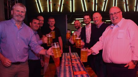 The Norwich Oktoberfest gets underway at the Open. Picture: DENISE BRADLEY