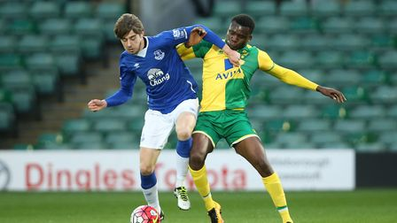 Antony Evans has been linked with a loan move to Norwich City. Picture: jasonpix
