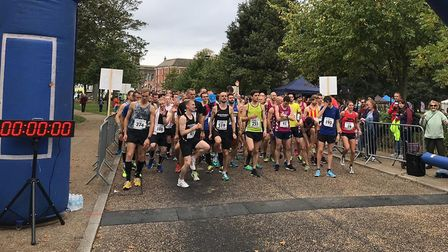 Scenes from the East Coast 10K Picture: MARK STONE