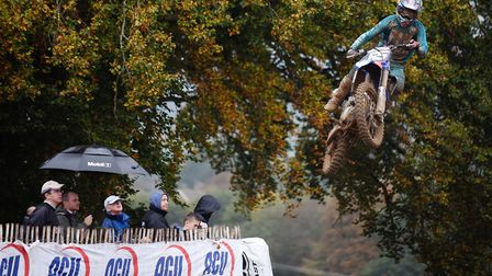 Action from the British Motocross Championship at Lyng. Picture: ANTONY KELLY