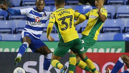 Academy products Max Aarons and Jamal Lewis in the thick of the action during City's win at Reading