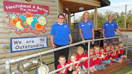 Neatishead and Barton Pre-school has been rated outstanding by Ofsted. Picture: Charlotte Drew