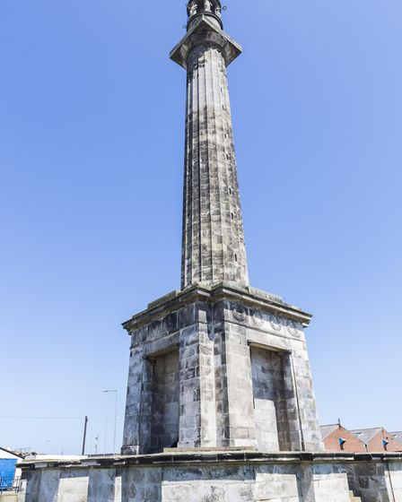 Nelson's Monument in Great Yarmouth. Credit: David Street.